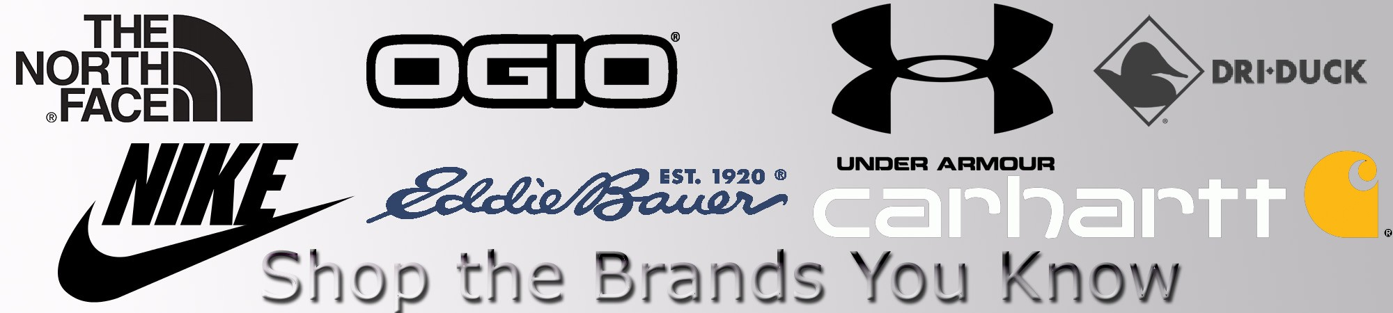 Shop the Brands You Know